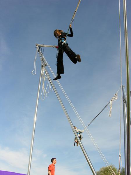 Aire d'aéro-jump Parcours d'Olhain | Passion d'Aventure