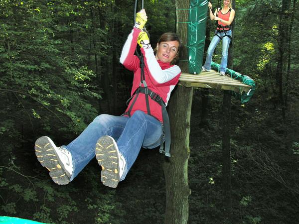 Parcours aventure d'Olhain Parcours Tyroliennes Olhain | Passion d'Aventure