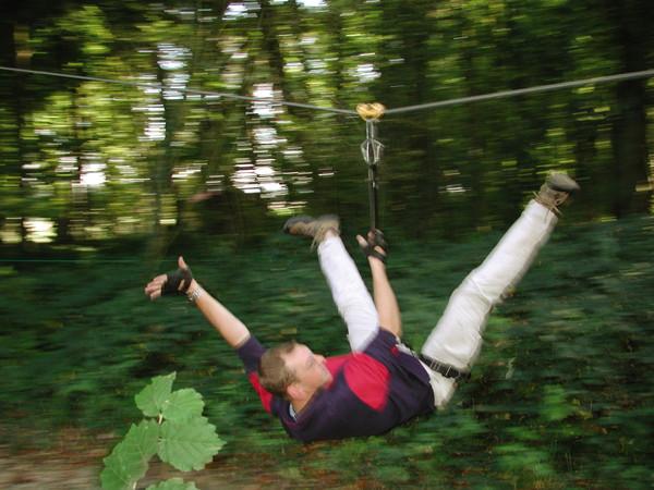 Parcours Tyroliennes Parcours d'Olhain | Passion d'Aventure